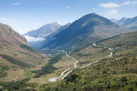 Photo of panoramic mountain view of Pyrenees, Andorra Stock Photo - 15737690
