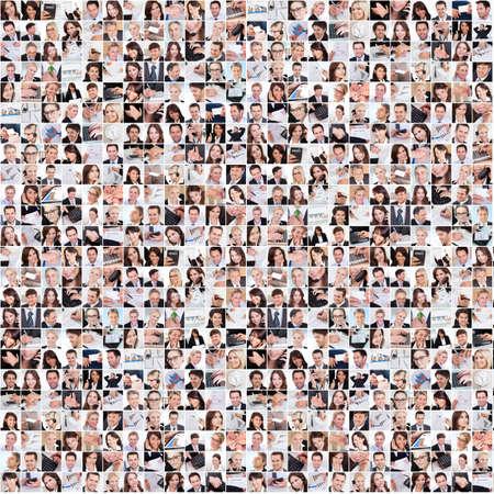 люди: Большой набор различных изображений бизнес в офисе