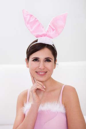 playboy: Portrait Of Sexy Girl Wearing Bunny Ears