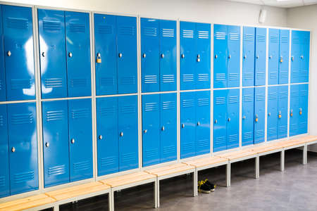 Photo Of Blue Lockers In The Room