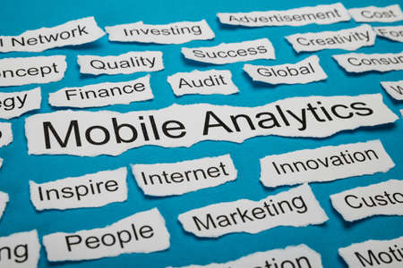 salient: Word Mobile Analytics On Piece Of Paper Salient Among Other Related Keywords