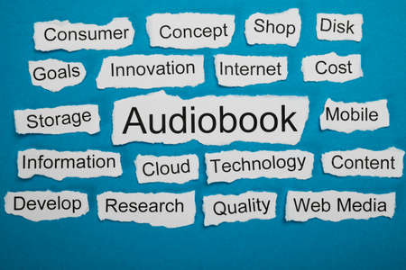 salient: Word Audiobook On Piece Of Paper Salient Among Other Related Keywords