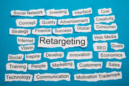 salient: Word Retargeting On Piece Of Paper Salient Among Other Related Keywords