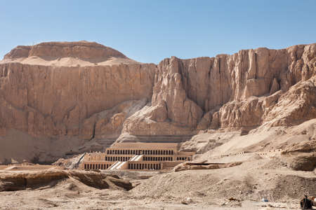 valley of the temples: The Great Temple Of Hatshepsut In Luxor, Egypt