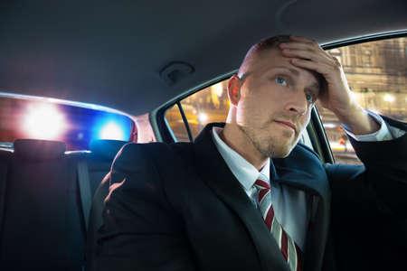 若いドライバーは重点を置かれた警察に問題があります。