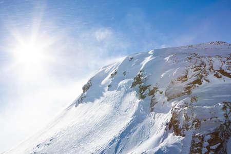 tirol: Sunshine Over The Oetztal Alps; Tirol; Austria