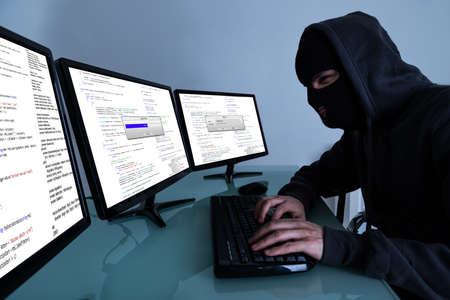 laptop computers: Hacker Stealing Data On Multiple Computers And Laptop