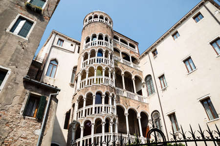The Famous Staircase Of The Palazzo Contarini Del Bovolo