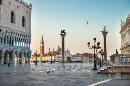 St Mark's Square At Veneto, Venice, Italy