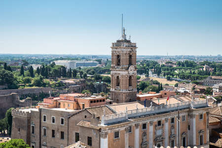 Capitoline Museums On Capitoline Hill In Rome, Italy