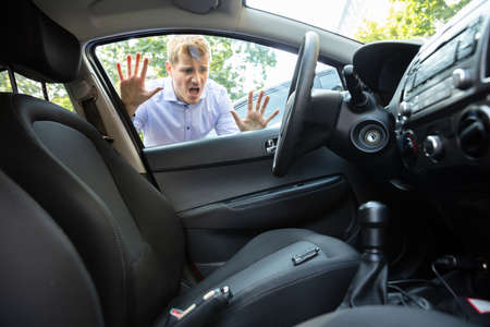 Man Forgot His Key Inside Locked Car