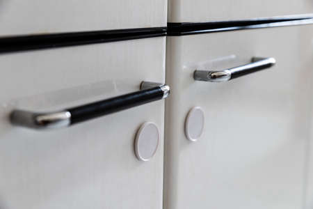 Close-up Photo Of Child Proof Kitchen Cabinets