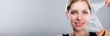 Facial Chemical Peeling Treatment. Skin Peel Rejuvenation
