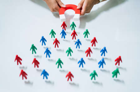 Magnetic Lead Generation. Attract Customer With Magnet