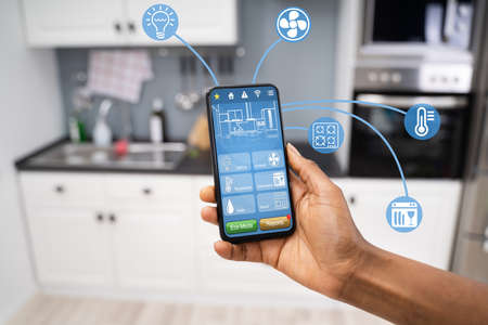 Smart Home Tech And Kitchen Features Automation