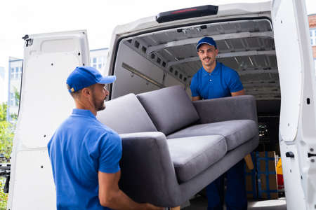 Furniture Move, Removal Delivery Near Truck Or Van