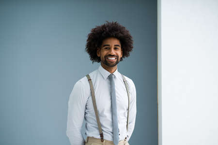 Young African American Accountant Or Law Attorney