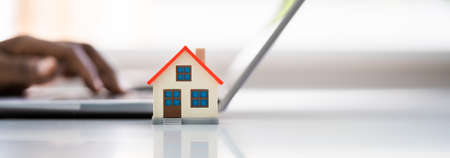 African American Buying Real Estate Property Online