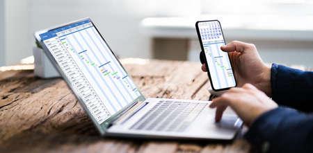 Convertible Business Laptop Digital Electronic Gantt Chart
