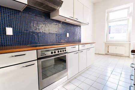 Interior View Of Modern Kitchen Interior At Home Stockfoto