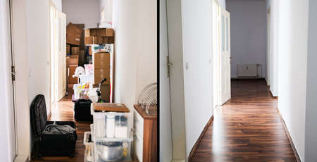 House Mess And Junk Declutter Before And After