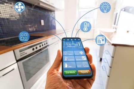 Smart Kitchen Home Automation Control Tech Features