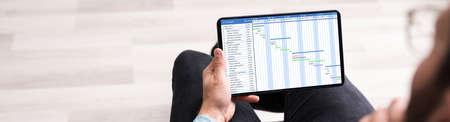 Chart Gantt Software. Business Calendar Agenda And Schedule