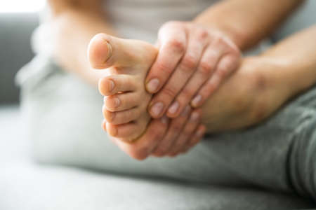 Barefoot Toe And Foot Skin Care And Treatment
