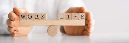 Life Balance Protection Concept. Corporate Employment Care