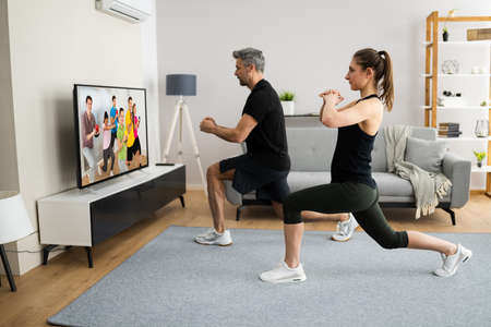 Online TV Home Fitness Workout And Exercise