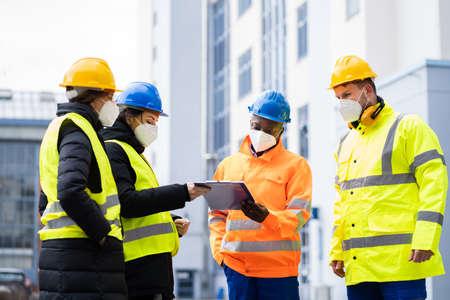 Industrial Engineer Worker Or Builder Safety Inspector