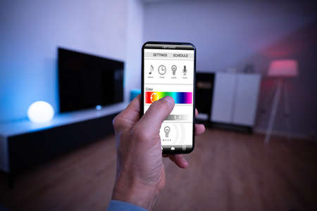 Smart Light Control Using Mobile Phone And Smarthome