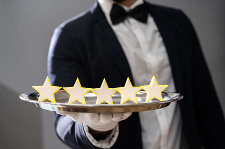 Hospitality Hotel Butler Serving 5 Star Services