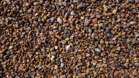 Gravel on the coast, textured abstract background for design Stock fotó