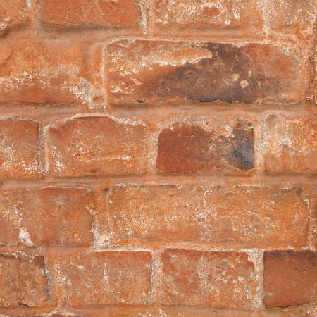 chafe: texture of red brick wall Stock Photo