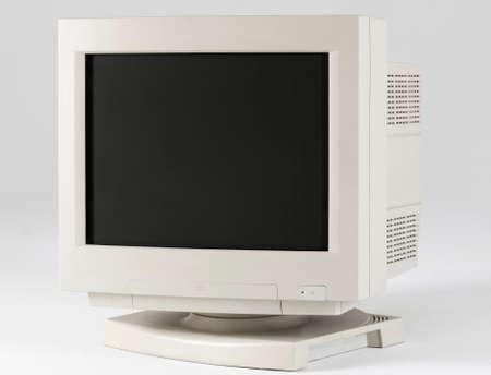 a vintage computer monitor