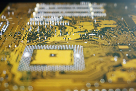Computer circuit Board. Electronic technology