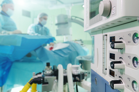 medical equipment for anesthesia .