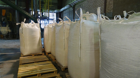 Shop plant for the production of pellets from biomass .Biofuel.