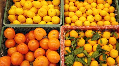 Fruit for sale.Fresh fruit on the market.