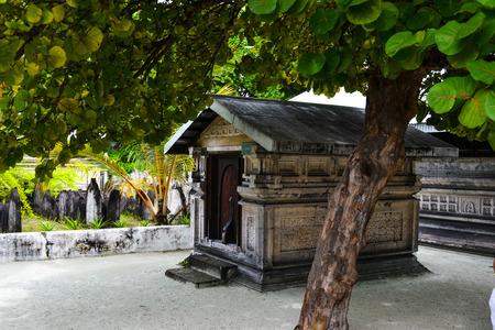 tumbas: belleza de la isla exótica - Maldivas. tumbas más antiguas