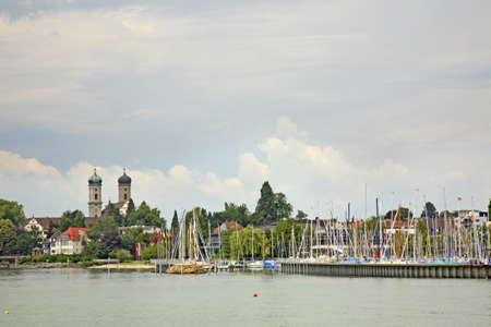 friedrichshafen: Port in Friedrichshafen  Germany  Stock Photo