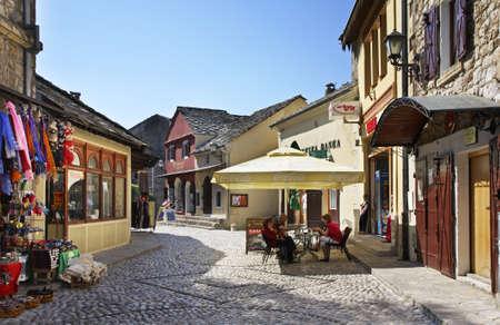 former yugoslavia: Old town of Mostar  Bosnia and Herzegovina