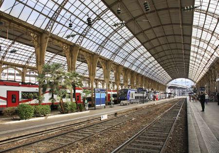 ville: Nice Ville Train Station  France