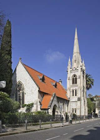 protestant: Protestant church in Nice  France