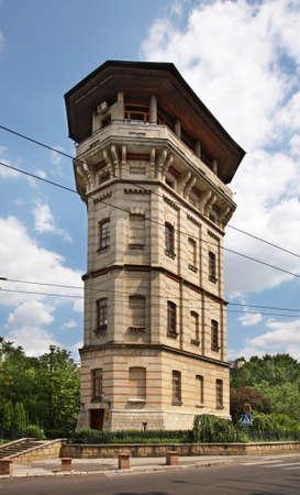 moldova: Kishinev   Water Tower  Moldova   Editorial