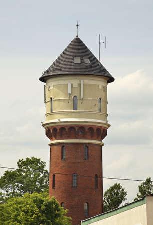 wody wieży: Morag  Water tower  Poland