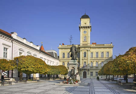 General  Klapka Square  in Komarno  Slovakia photo