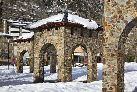 andorra: City park in Encamp  Andorra