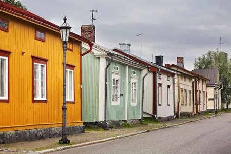 Alt Kokkola Finnland Standard-Bild - 27891123